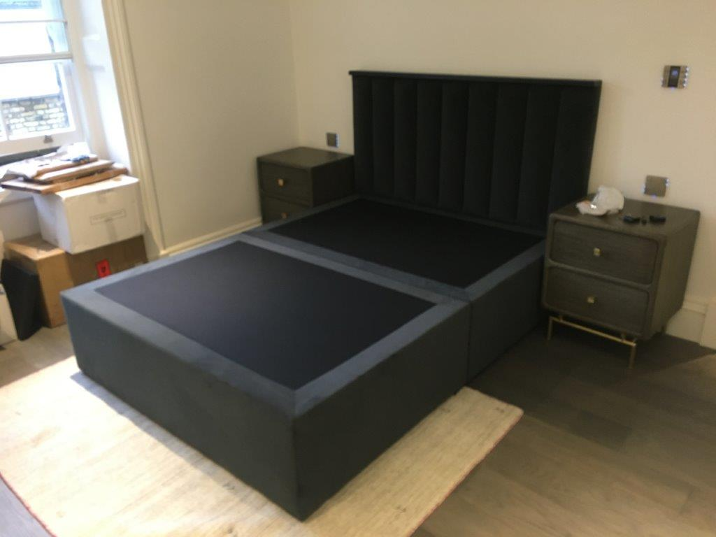 devine bed and headboard