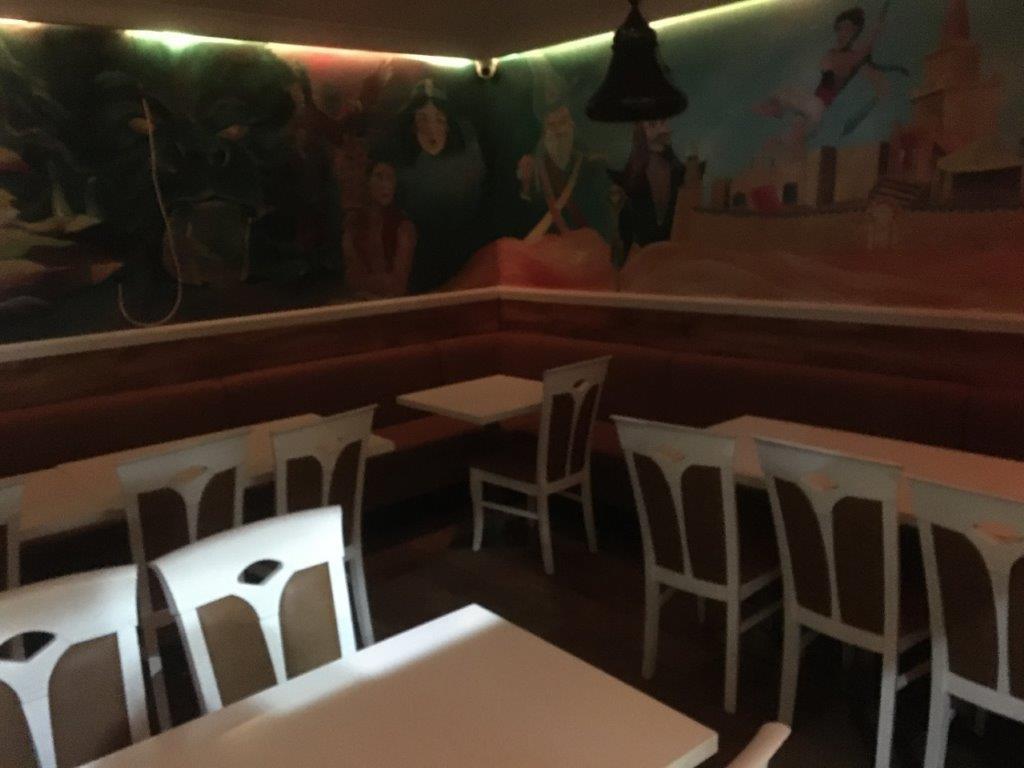 reception, restaurant furniture, Banquette seating